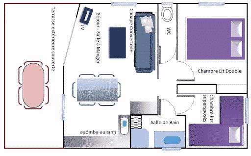 Hameaux de Miel Group Events Accommodation description